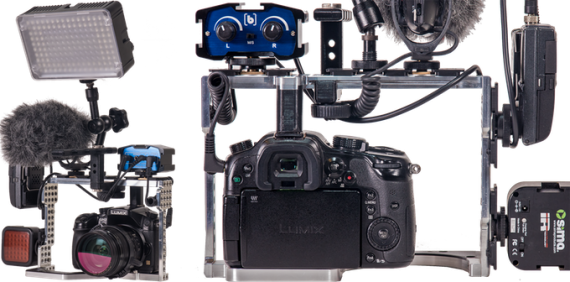 true grip cage gh4 audio