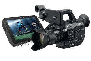 NAB 2016: No New Super35 Cameras from Sony; FS5 Firmware 2.0 Details Plus 4K and 2K Raw Update