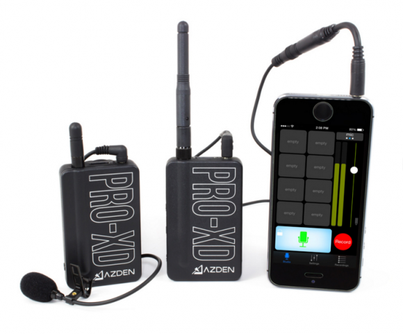Azden Pro XD Digital Wireless