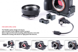 New Sony A7sII LockPort Micro Cage from Lock Circle