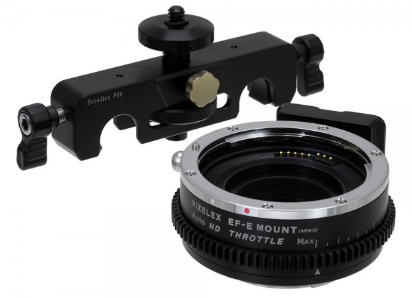 Canon EOS EF to Sony E Mount Vizelex ND Throttle Smart Adapter