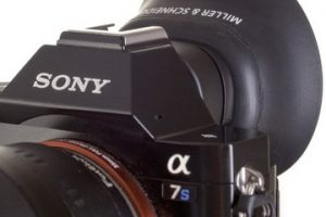 New Sony A7s/A7sII/A7RII A-Cup Viewfinder Eyecup from Miller & Schneider