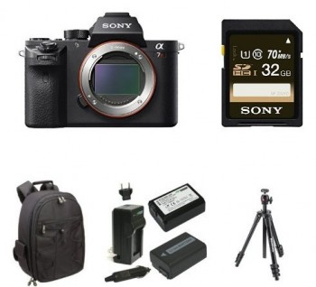 Sony A7R II Deluxe Bundle Amazon