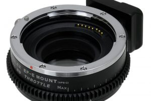 New Fotodiox Smart ND Throttle Canon Lens Adapter for Sony E-Mount Cameras