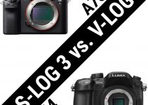 Sony's S-Log 3 and Panasonic's V-Log Footage Side By Side