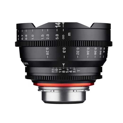 Samyang Complete Xeen Cine Prime Lens Set With 2 New