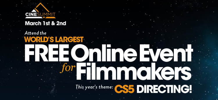 CineSummit CS5 2016 Directors Edition