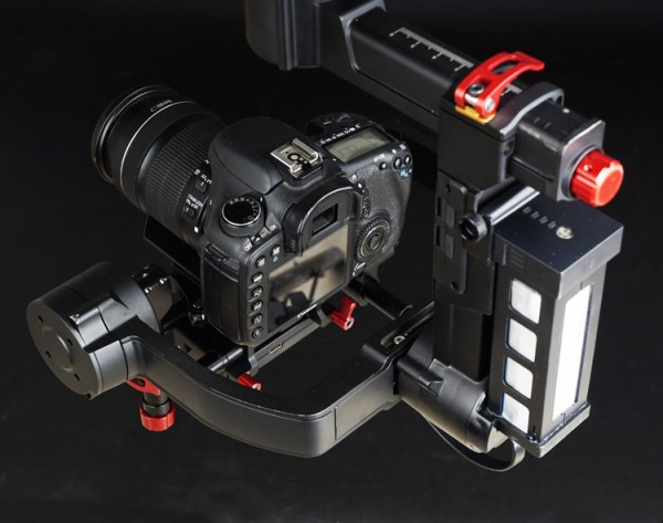 CAME-TV Argo gimbal side