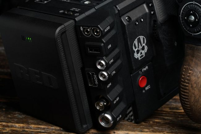 RED Slim V-mount battery DSMC 2