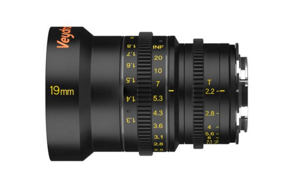 Veydra 19mm T2.2 E mount