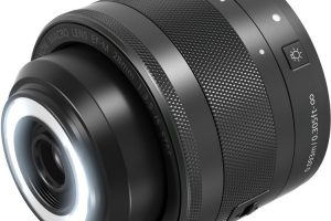 Canon Introduces new EF-M 28mm Macro STM Lens with Built-in LED Ring