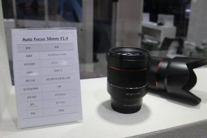 New Samyang 14mm 2.8 and 50mm 1.4 FE lenses for Sony E-mount with Autofocus