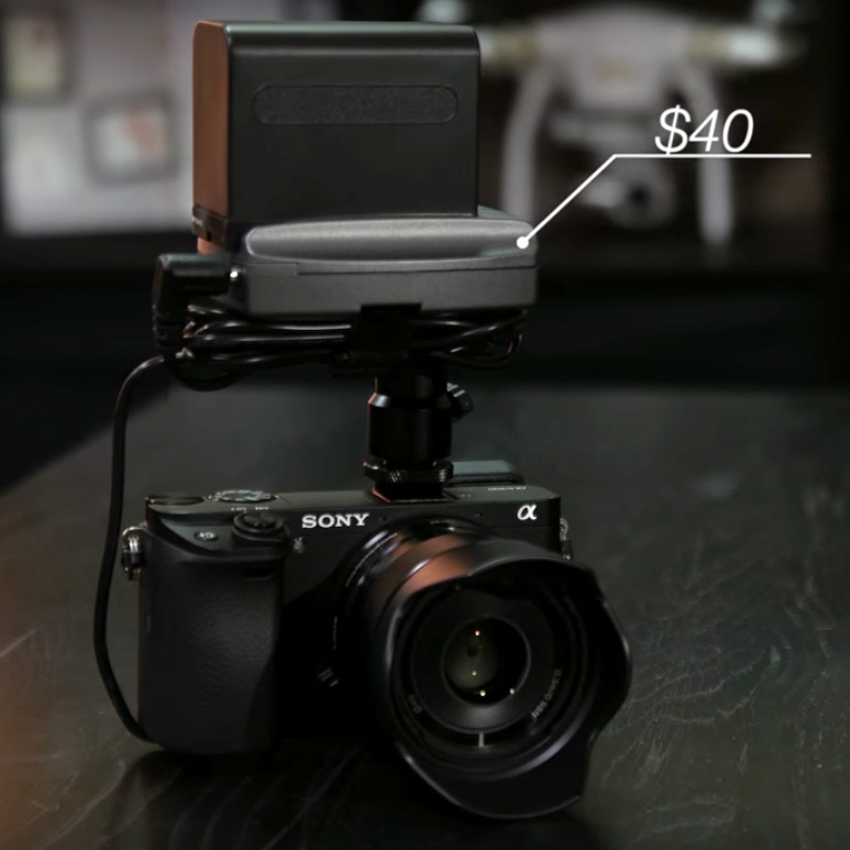 A $40 DIY External Battery Setup for Your Sony Alpha Series Camera