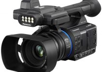 Oh, Look the AG-AC30 is a New Panasonic Camera with a Built-in LED Light?