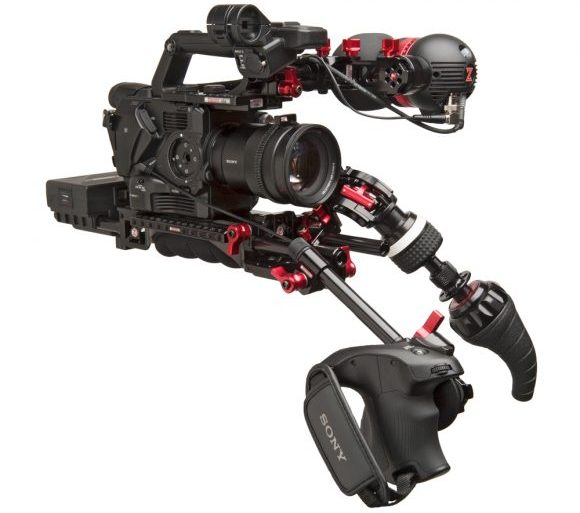 Sony Fs5 Recoil Rig Zacuto Gripper Battery