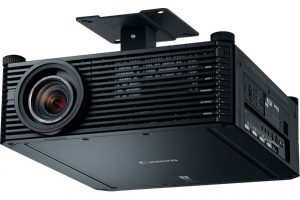 The Latest Canon 4K Projector Exceeds DCI Standard with Native Resolution of 4096 x 2400 and Brightness of 5000 Lumens