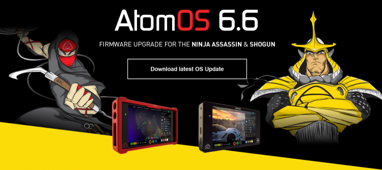 Atomos 6.6 Shogun Ninja Assassin HDR