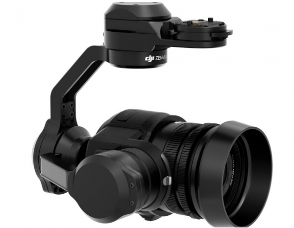 Xenmuse X5 DJI with lens