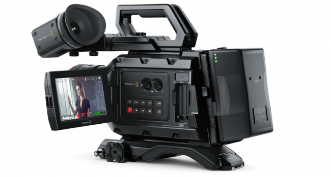 Blackmagic Camera 4.0 update URSA Mini OS New Interface