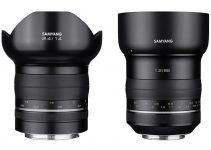 The Premium Samyang XP 85mm F/1.2 and 14mm F/2.4 Lenses Now Available