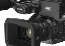 New Panasonic HC-X1 4K Compact Pro Camcorder with 20x Zoom and 4K/60p