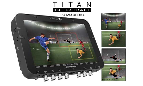 Convergent Design Odyssey7Q+ Titan HD Extract Option