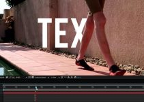 Creating Text Behind Mask Effect in Adobe After Effects CC