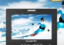 The MustHD 7″ Hyper-Brite is the Brightest Field Monitor in its Class That Supports 4K/60Hz Video