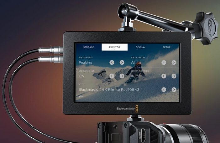 Blackmagic Video Assist 3D LUTs Firmware 2.3