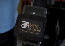 StrapMoore Secures Your Batteries and Power Bricks to Any Light Stand, Tripod Leg or a Camera Rig