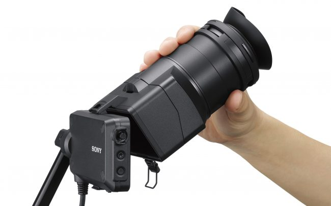 Sony FS7 II new eye piece loupe large