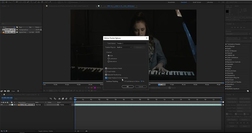 Advanced Image Stabilization Using After Effects and