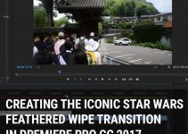 How to Create the Star Wars Feathered Wipe Transition Effect in Adobe Premiere Pro CC 2017