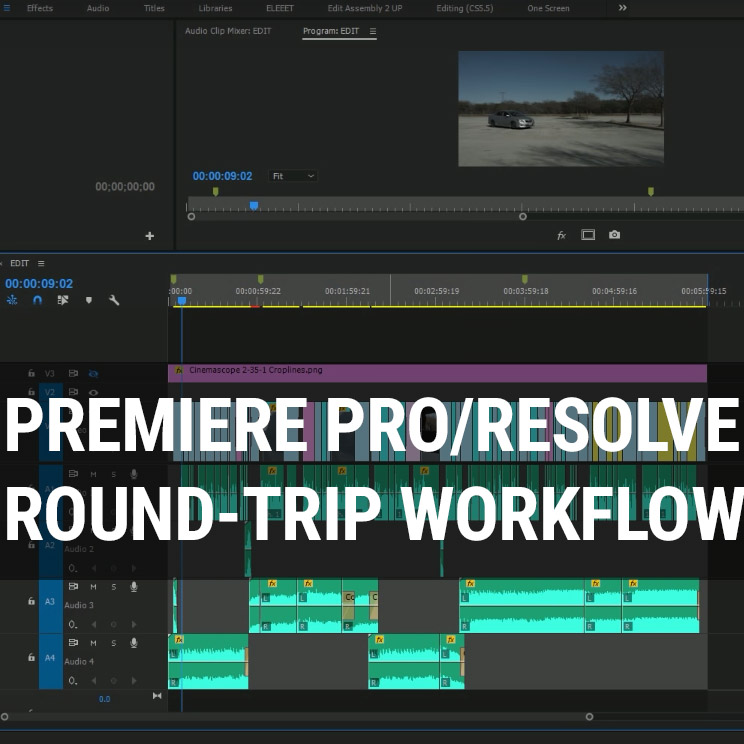 Premiere Pro CC 2017 to Resolve 12 5 Round Trip Workflow | 4K Shooters