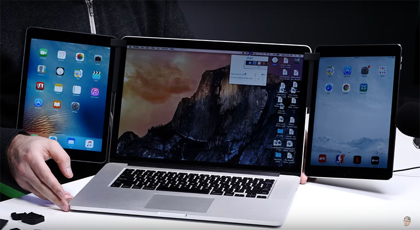 Can you hook up multiple monitors to a macbook pro