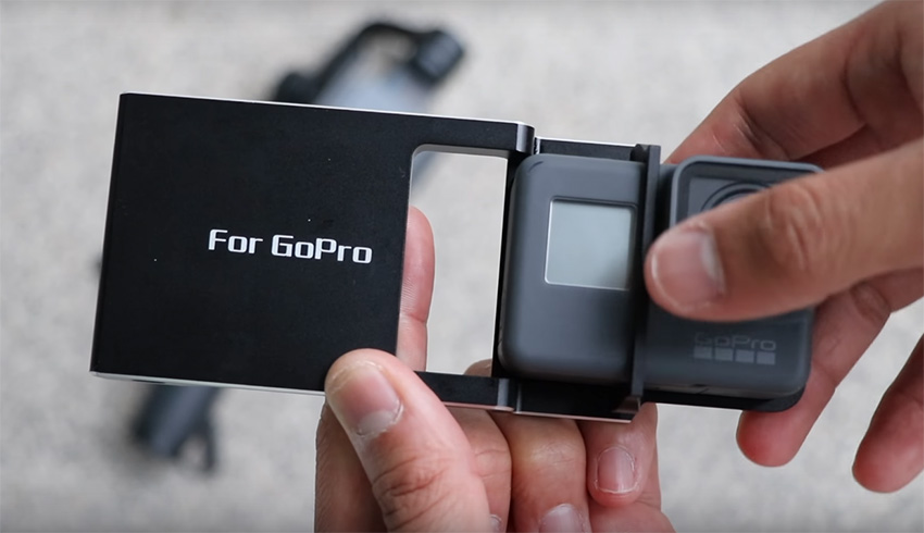Mounting A GoPro HERO5 Black To DJI Osmo Mobile
