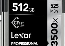 The Latest Lexar's 512GB CFast 2.0 Card Provides Whopping Read Speeds of Up to 525MB/s