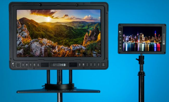 SmallHD 702 OLED and 1703-P3 DCI-P3 SmallHD Production Monitor