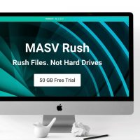 MASV IO MASV RUSH Large Transfer File