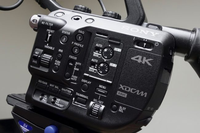 Sony FS5 HLG HDR Hybrid Log gamma BT.2020 update