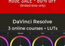 Save More Than 80% On the Ultimate DaVinci Resolve Online Training Bundle and Get 200+ Vivid Pro LUTS for Free!