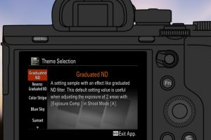 Sony Releases a Compelling Digital Filter App for Its Mirrorless and High-End Compact Cameras