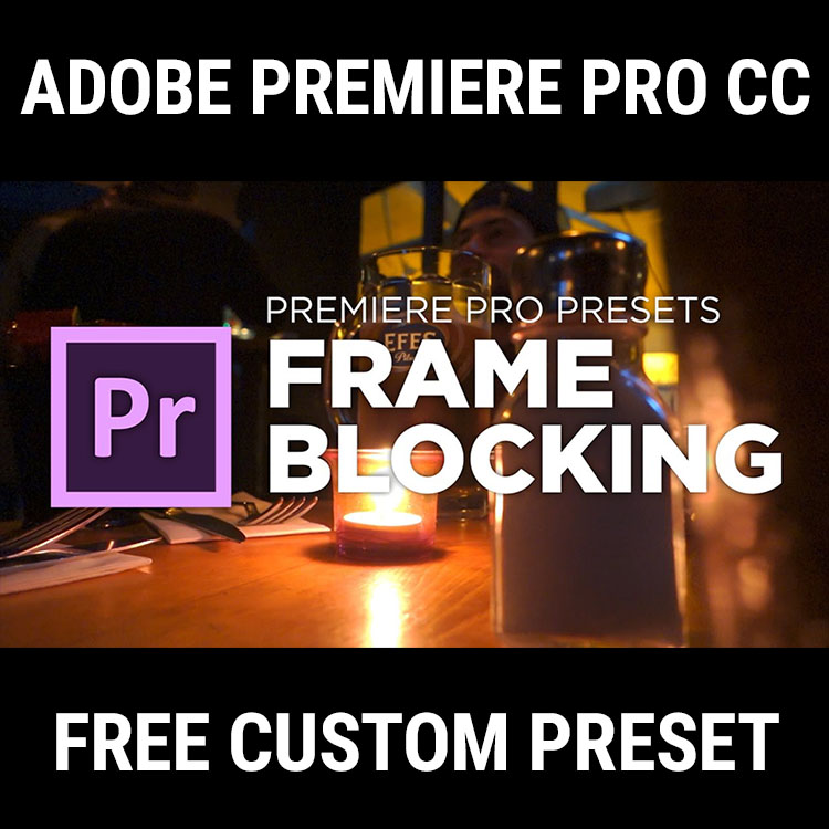 Download This Awesome Free Frame Blocking Transition for