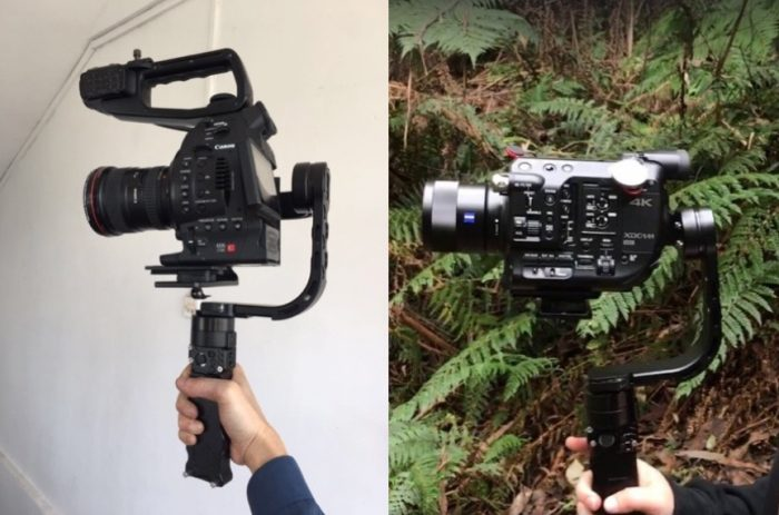 FilmPower Nebula 5100 DSLR 3-axis Gimbal Stabilizer