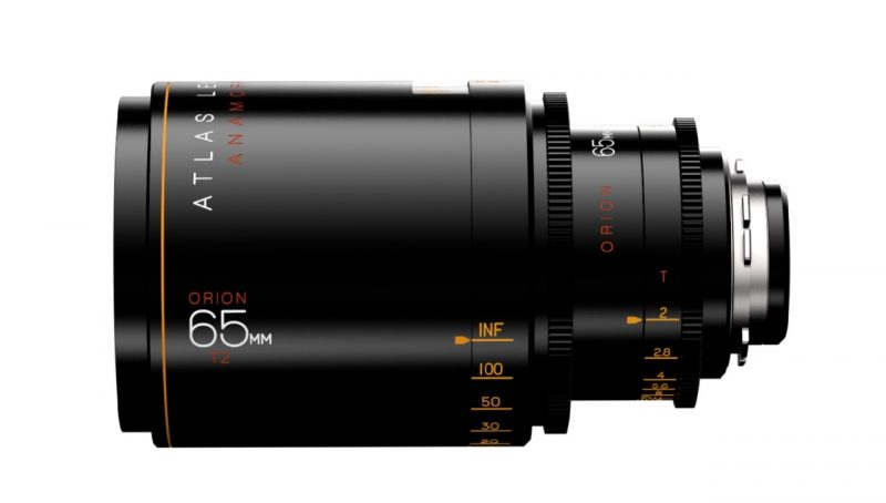 Atlas Lens Co ORION 2x Anamorphic Lens 65mm T2