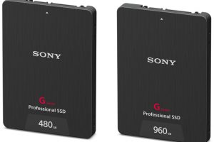 Sony Introduces Two New G Series Professional SSDs Tailored to High Bitrate 4K Video Recording