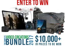 The Complete Video Creators Bundle 2017 Starts Soon – Enter the $10K Giveaway and Win Some Amazing Gear!