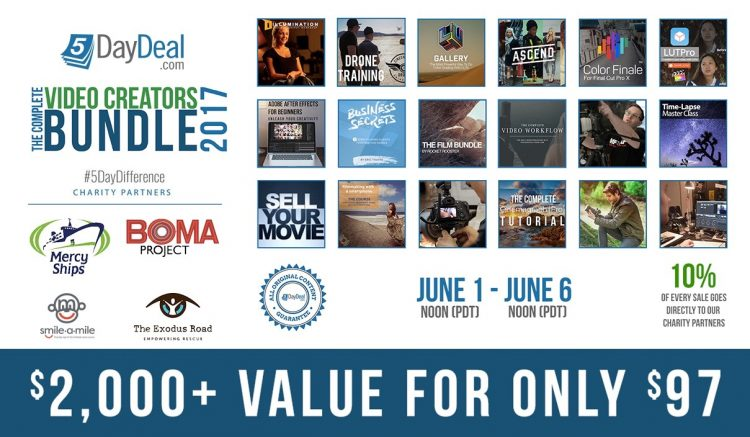 5DayDeal 2017 Compete Video Creators Bundle