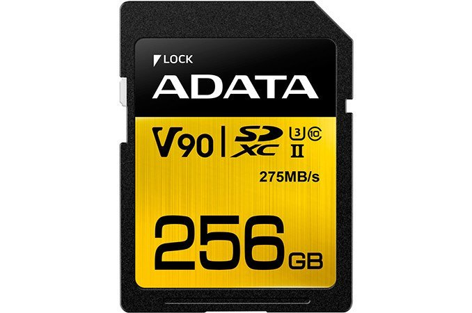 ADATA-Premier-One SDXC 256gb V90