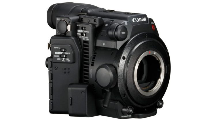Canon EOS C200 SIde